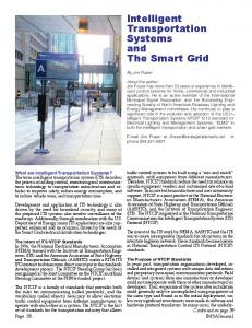 Intelligent Transportation Systems and The Smart Grid