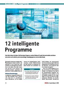 Intelligente Programme
