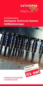 Intelligente Technische Systeme OstWestfalenLippe