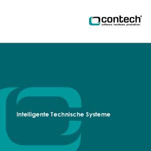 Intelligente Technische Systeme. sof tware. hardware. produktion