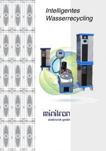 Intelligentes Wasserrecycling. minitron. elektronik gmbh