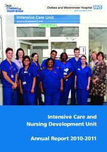 Intensive Care and Nursing Development Unit