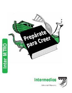 Inter MTRO. Intermedios Intermedios Libro del Maestro