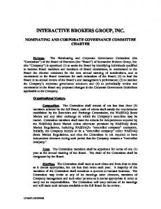 INTERACTIVE BROKERS GROUP, INC