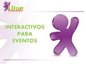 INTERACTIVOS PARA EVENTOS