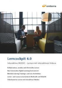 Interaktive MOOC Lernen mit interaktiven Videos