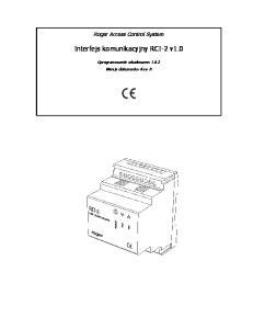 Interfejs komunikacyjny RCI-2 v1.0