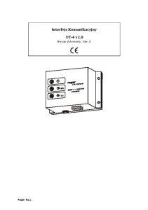 Interfejs Komunikacyjny UT 4 v2.0