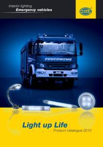 Interior lighting Emergency vehicles. Light up Life