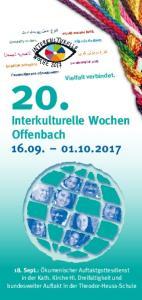 Interkulturelle Wochen Offenbach