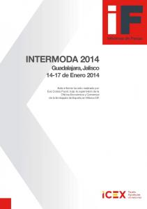 INTERMODA 2014 Guadalajara, Jalisco de Enero 2014