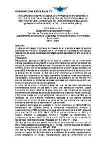 INTERNACIONAL PRODE SA DE CV