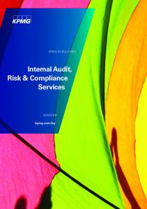 Internal Audit, Risk & Compliance Services