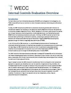Internal Controls Evaluation Overview