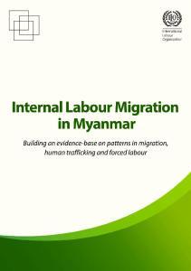 Internal Labour Migration in Myanmar