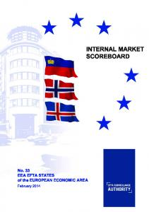 INTERNAL MARKET SCOREBOARD. No. 33