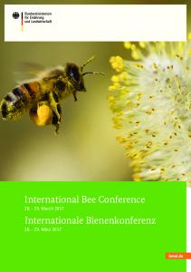 International Bee Conference March 2017