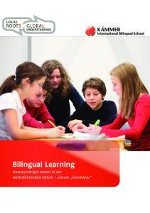International Bilingual School Bilingual Learning