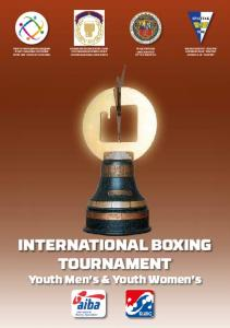 INTERNATIONAL BOXING TOURNAMENT