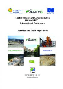 International Conference. Abstract and Short Paper Book