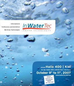 International. Conference and Exhibition. Maritime Technologies