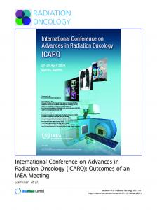 International Conference on Advances in Radiation Oncology