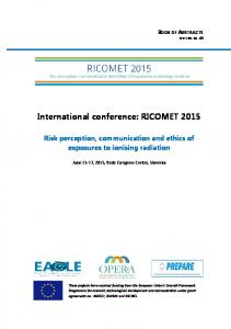 International conference: RICOMET 2015