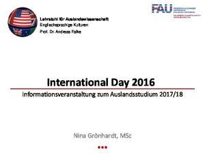 International Day 2016