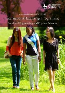 International Exchange Programme