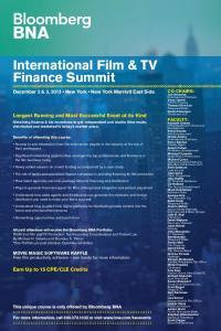 International Film & TV Finance Summit