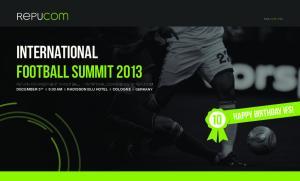 International Football Summit 2013