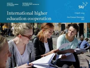 International higher education cooperation