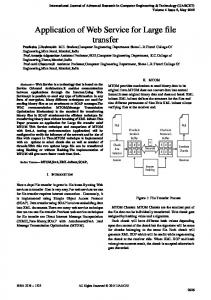 International Journal of Advanced Research in Computer Engineering & Technology (IJARCET) Volume 4 Issue 5, May 2015