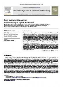 International Journal of Approximate Reasoning