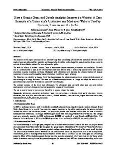International Journal of Business Administration Vol. 5, No. 4; 2014
