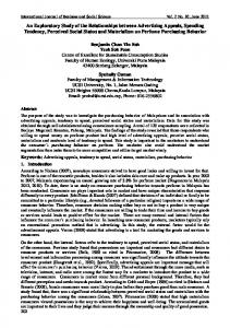 International Journal of Business and Social Science Vol. 2 No. 10; June 2011