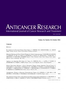 International Journal of Cancer Research and Treatment