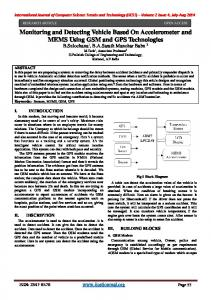 International Journal of Computer Science Trends and Technology (IJCST) Volume 2 Issue 4, July-Aug 2014
