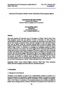 International Journal of Contemporary Applied Sciences Vol. 2 No. 2 February 2015