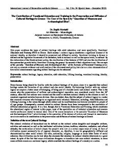 International Journal of Humanities and Social Science Vol. 2 No. 24 [Special Issue December 2012]