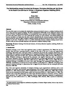 International Journal of Humanities and Social Science Vol. 3 No. 14 [Special Issue - July 2013]