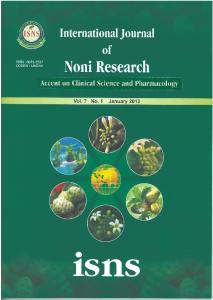 International Journal of Noni Research