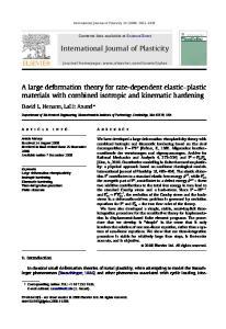International Journal of Plasticity