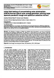 International Journal of Sustainable and Green Energy