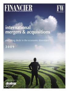 international mergers & acquisitions