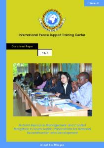 International Peace Support Training Center