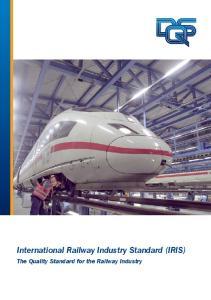 International Railway Industry Standard (IRIS)