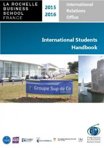 International Relations Office. International Students Handbook