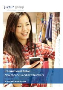 International Retail New channels and new frontiers