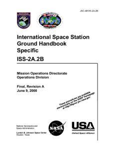 International Space Station Ground Handbook Specific ISS-2A.2B